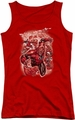 DC Comics juniors tank top Red Lanterns #1 red
