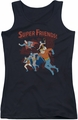 DC Comics juniors tank top Super Running black