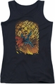 DC Comics juniors tank top Superman #1 black