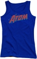DC Comics juniors tank top The Atom royal