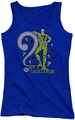 DC Comics juniors tank top The Riddler royal