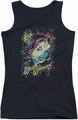DC Comics juniors tank top Wonder Woman Color Block black