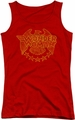 DC Comics juniors tank top Wonder Woman Eagle red
