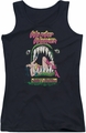 DC Comics juniors tank top Wonder Woman Jaws black