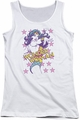DC Comics juniors tank top Wonder Woman Valiant white