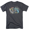 Batman Robin Originals t-shirt Action Duo mens charcoal