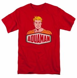 DC Comics Originals t-shirt Aquaman Sign mens red