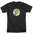 DC Comics Originals t-shirt Flash Logo Distressed mens black