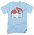 DC Comics Originals t-shirt Flash Sign mens light blue