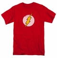 DC Comics Originals t-shirt Rough Flash Logo mens red