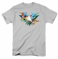 DC Comics Originals t-shirt Star Power mens silver