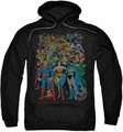 DC Comics pull-over hoodie Original Universe adult black