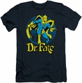 DC Comics slim-fit t-shirt Dr Fate Ankh mens navy