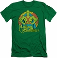 DC Comics slim-fit t-shirt Martian Manhunter mens kelly green