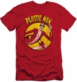 DC Comics slim-fit t-shirt Plastic Man mens red