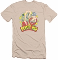 DC Comics slim-fit t-shirt Plastic Man Stars mens cream