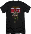 DC Comics slim-fit t-shirt Sgt Rock mens black