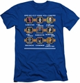 DC Comics slim-fit t-shirt Stage Select mens royal
