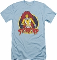 DC Comics slim-fit t-shirt Starfire mens light blue