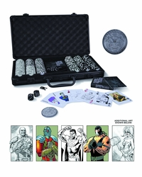 Dc Comics Super Villains Poker Set