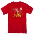 Flash t-shirt Crimson Comet mens red