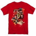 DC Comics t-shirt Dripping Characters mens