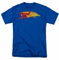 Flash t-shirt Fastest Man Alive mens royal