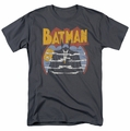 Batman t-shirt Foggy mens charcoal
