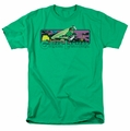 Green Lantern t-shirt Cosmos mens kelly green