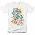 Justice League t-shirt Halftone League mens white
