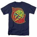 Plastic Man t-shirt How I Roll mens navy