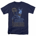 Batman t-shirt Issues mens navy