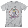 The Joker t-shirt Maniacal mens heather