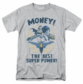 DC Comics t-shirt Money mens heather