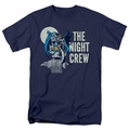 Batman t-shirt Night Crew mens navy