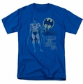Batman t-shirt Night Life mens royal