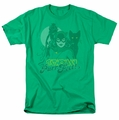 Catwoman t-shirt Perrfect! mens kelly green