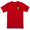 DC Comics t-shirt Robin Logo mens red