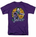 DC Comics t-shirt The Joker mens purple