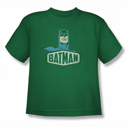 DC Comics youth teen t-shirt Batman Sign kelly green