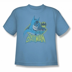 DC Comics youth teen t-shirt Batman Watch Yourself carolina blue