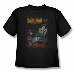 DC Comics youth teen t-shirt Batman Wrong Signal black