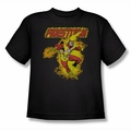 DC Comics youth teen t-shirt Firestorm black