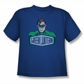 DC Comics youth teen t-shirt Green Lantern Sign royal