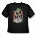 DC Comics youth teen t-shirt Justice League Dark black