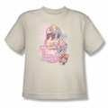 DC Comics youth teen t-shirt Justice League Sirens Of Strength cream