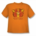 DC Comics youth teen t-shirt Ring Of Firestorm orange