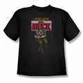 DC Comics youth teen t-shirt Sgt Rock black