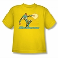 DC Comics youth teen t-shirt Sinestro yellow