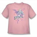 DC Comics youth teen t-shirt Supergirl Pastels pink